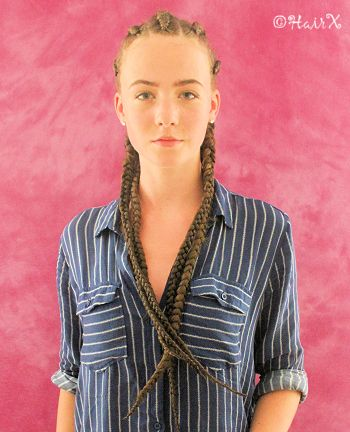 Hairx Kundenfotos Cornrows